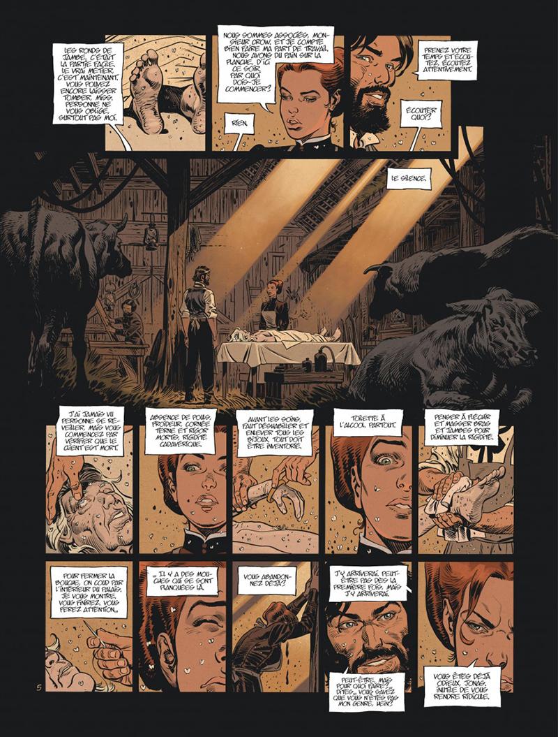 Extrait n°5 de la bd tome 3 par Xavier Dorison