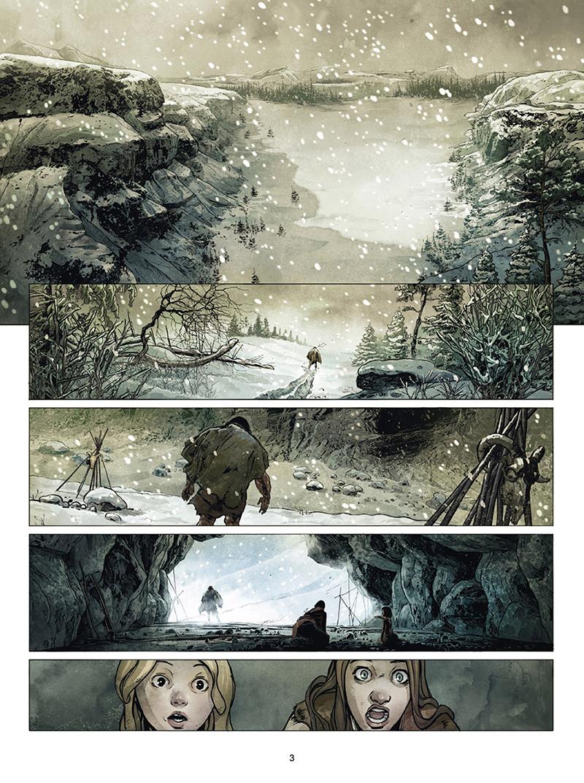 Extrait n°1 de la bd tome 3 par Olivier Péru