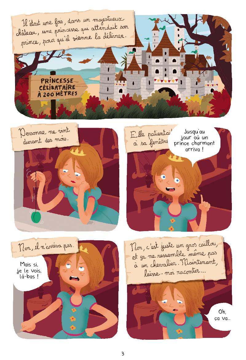 Princesse Libellule - T.3 Princesse Libellule déteste les contes de fées