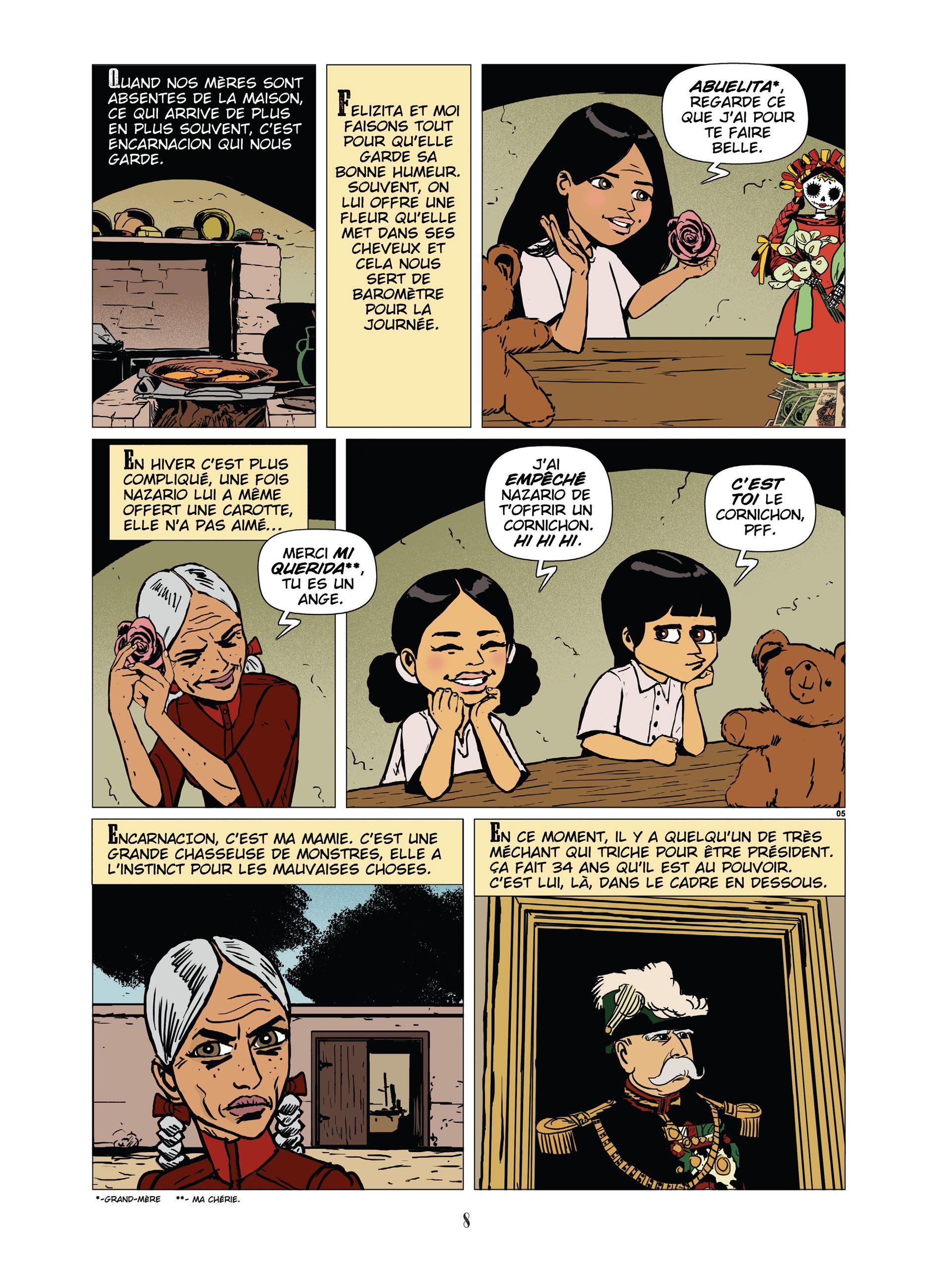 Extrait n°3 de la bd Desperados Housewives par Amazing Améziane