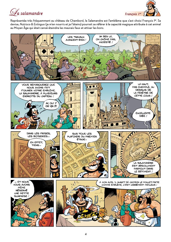 Extrait n°1 de la bd Les Châteaux de la Loire par Christophe Cazenove