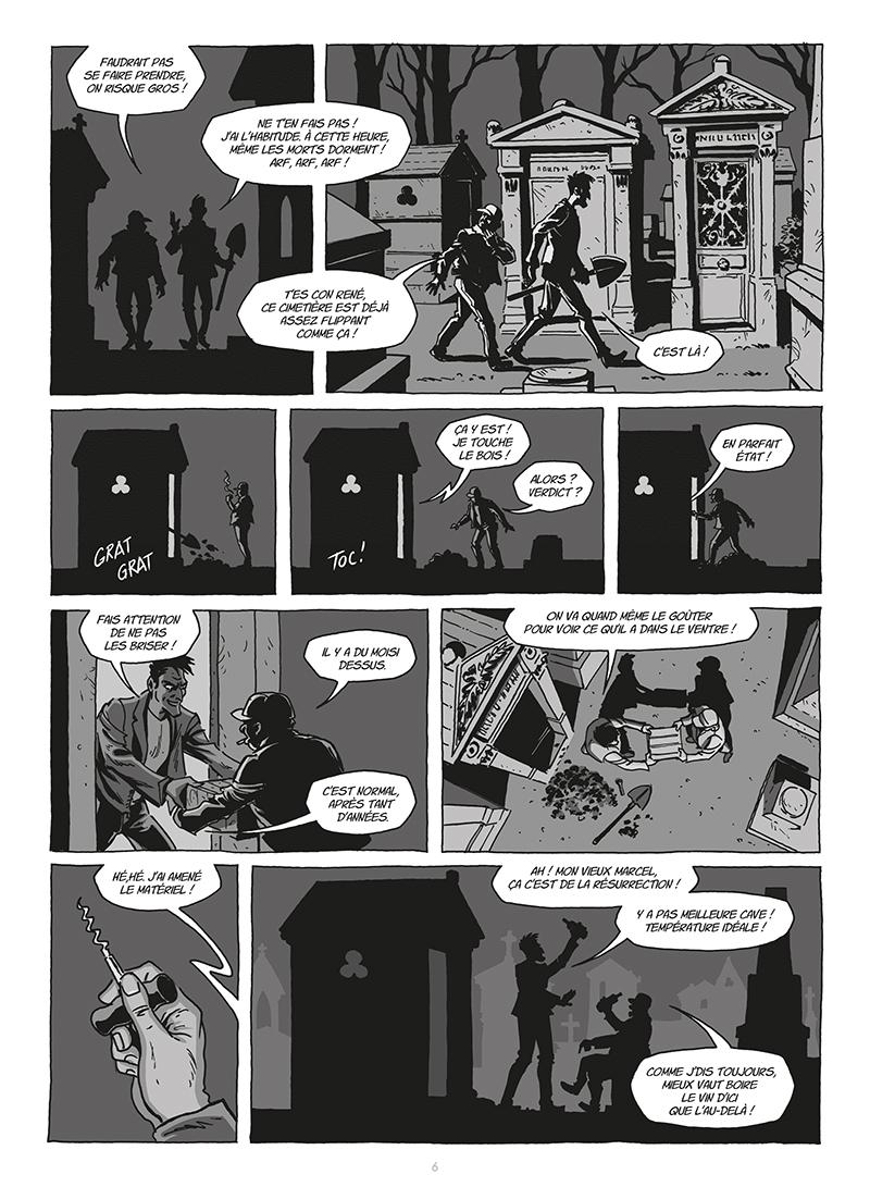 Extrait n°4 de la bd tome 2 par Gilles Le Coz