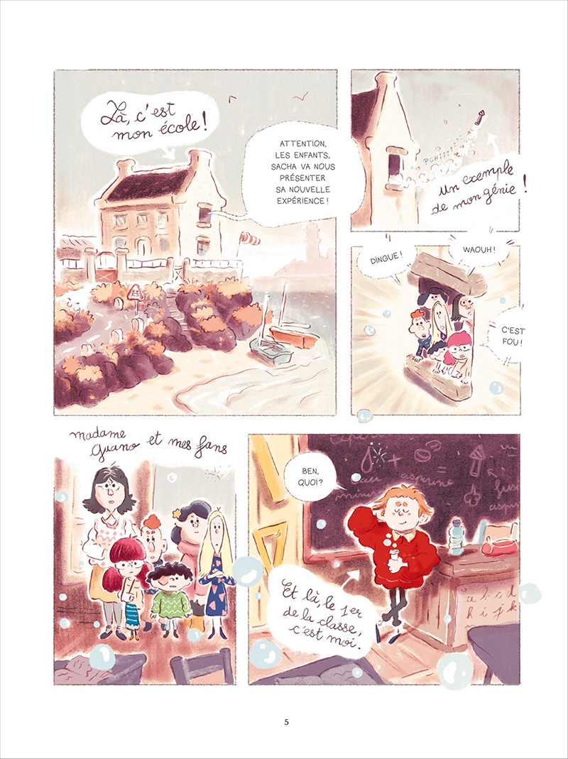 Extrait n°1 de la bd tome 1 par Bastien Quignon