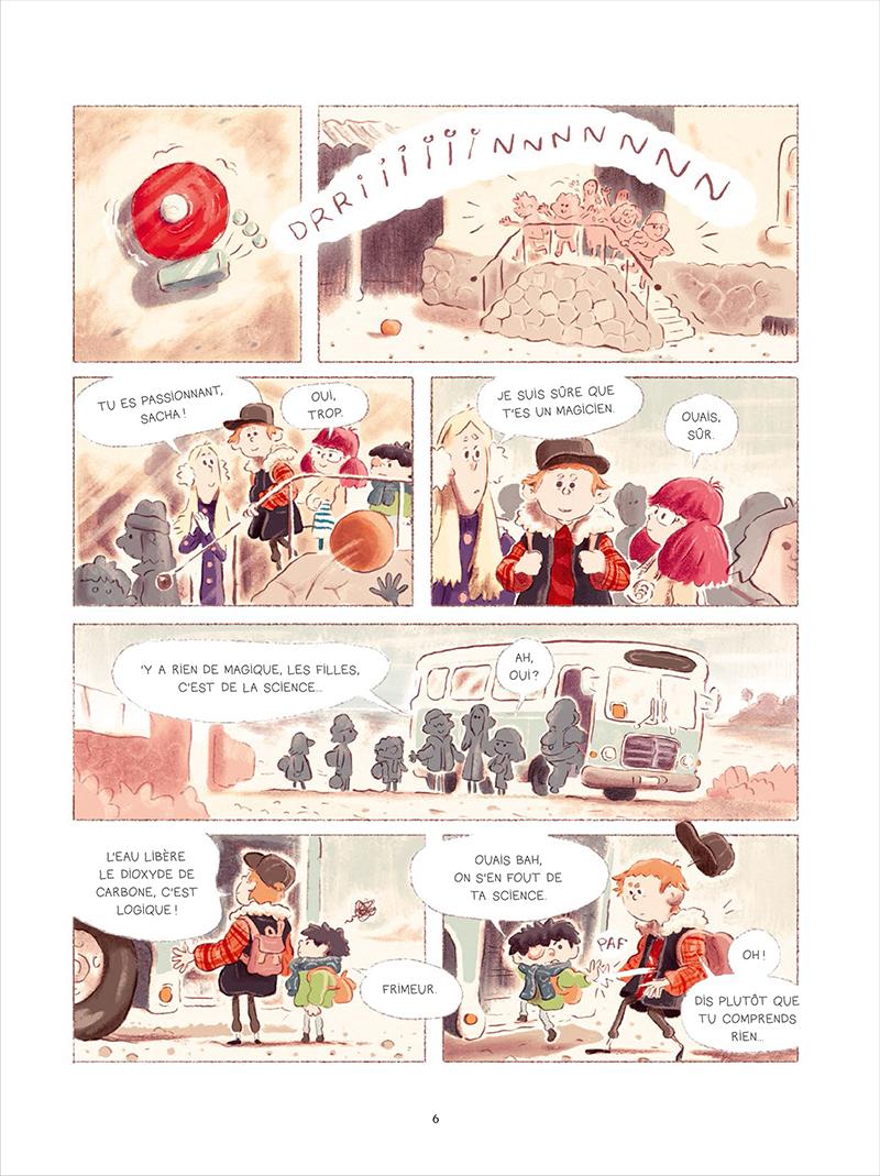 Extrait n°2 de la bd tome 1 par Bastien Quignon