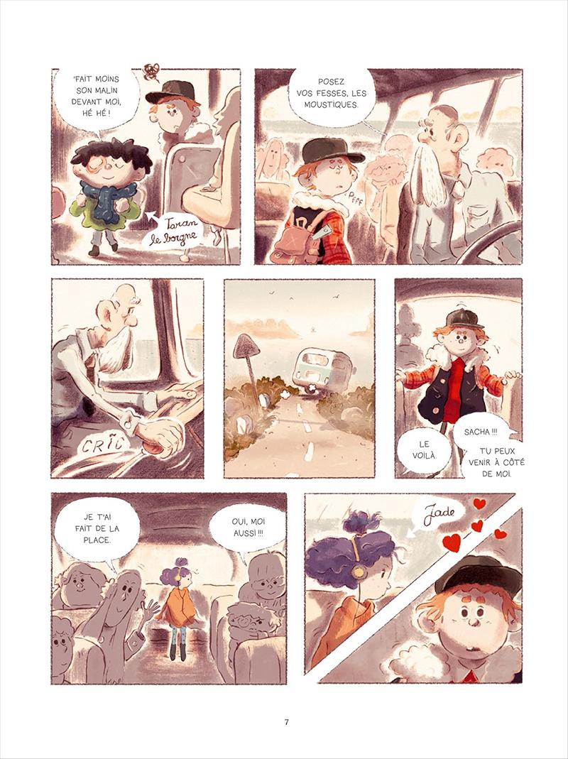 Extrait n°3 de la bd tome 1 par Bastien Quignon