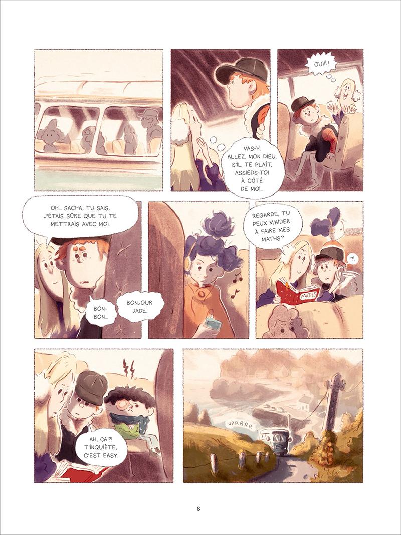 Extrait n°4 de la bd tome 1 par Bastien Quignon