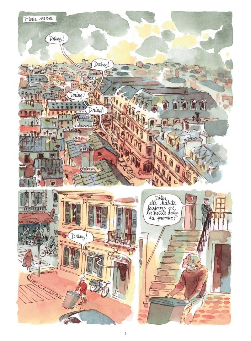 Extrait n°1 de la bd Morocco Jazz par Julie Ricossé