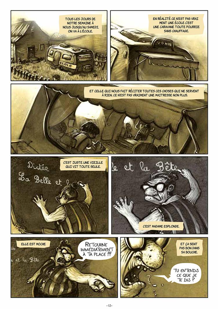 Extrait n°10 de la bd Un léger bruit dans le moteur par Jonathan Gaet's