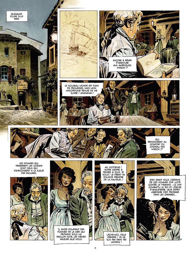 Extrait n°6 de la bd tome 1 par Rudi Miel