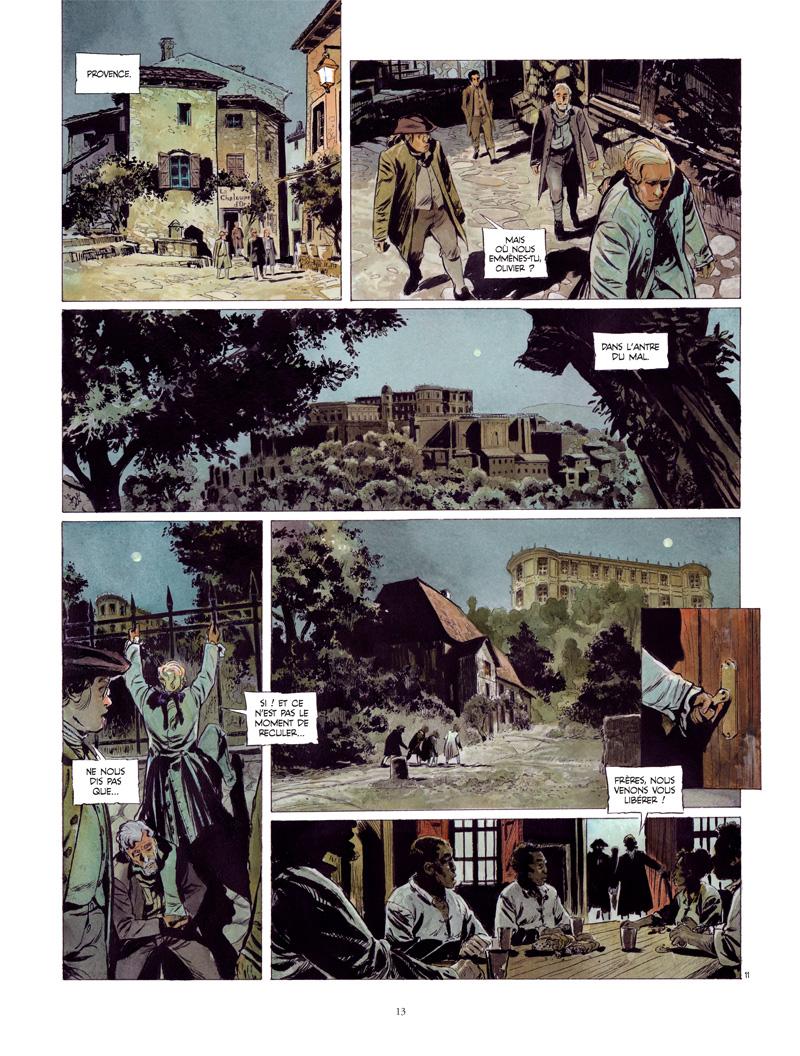 Extrait n°11 de la bd tome 1 par Rudi Miel