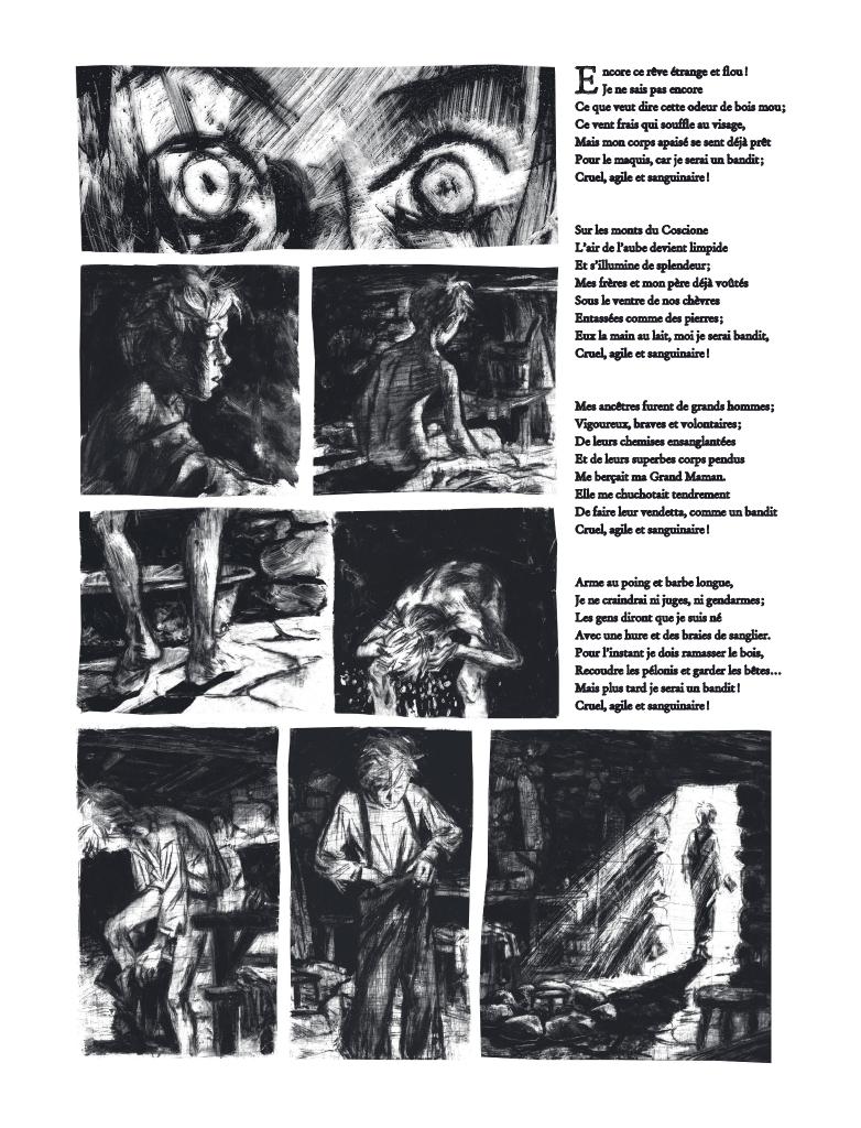 Extrait n°1 de la bd Mazzeru par Jules Stromboni