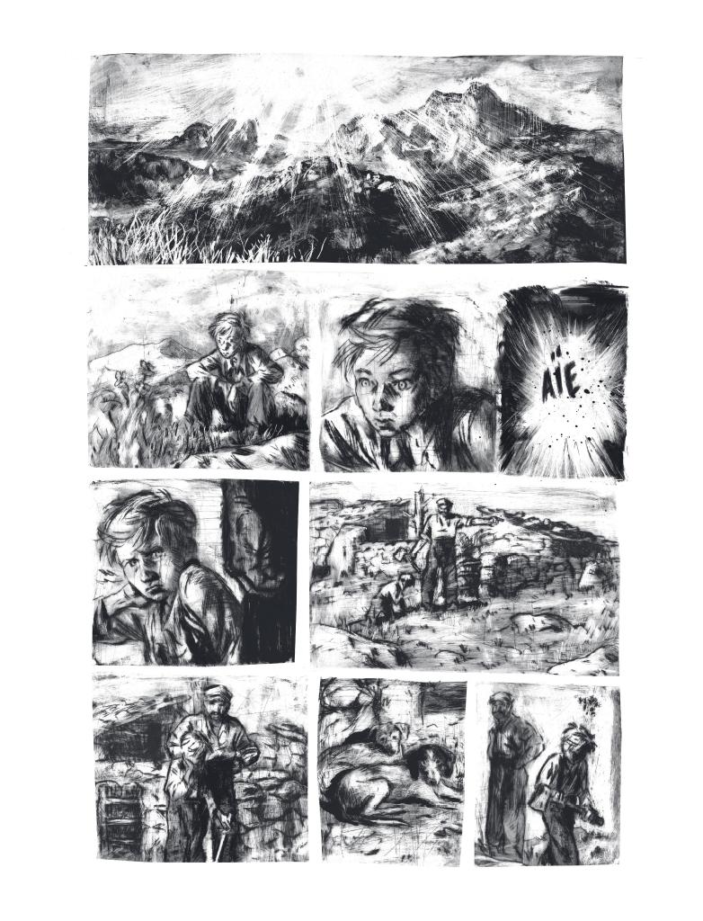Extrait n°2 de la bd Mazzeru par Jules Stromboni