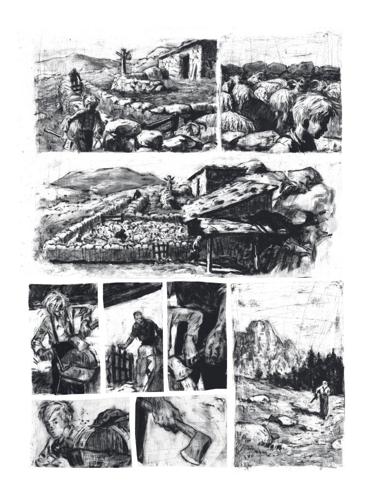 Extrait n°3 de la bd Mazzeru par Jules Stromboni