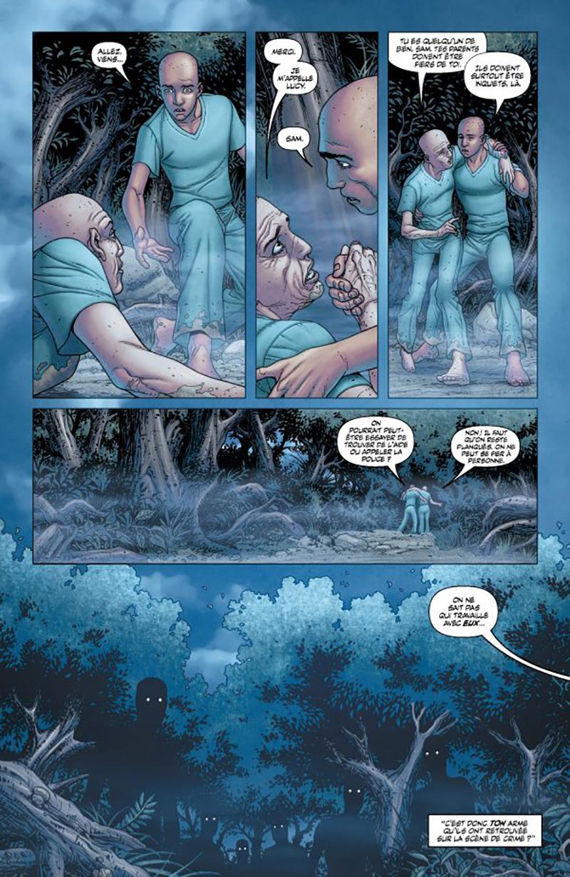 Extrait n°3 du comics tome 1 par Francis Portela