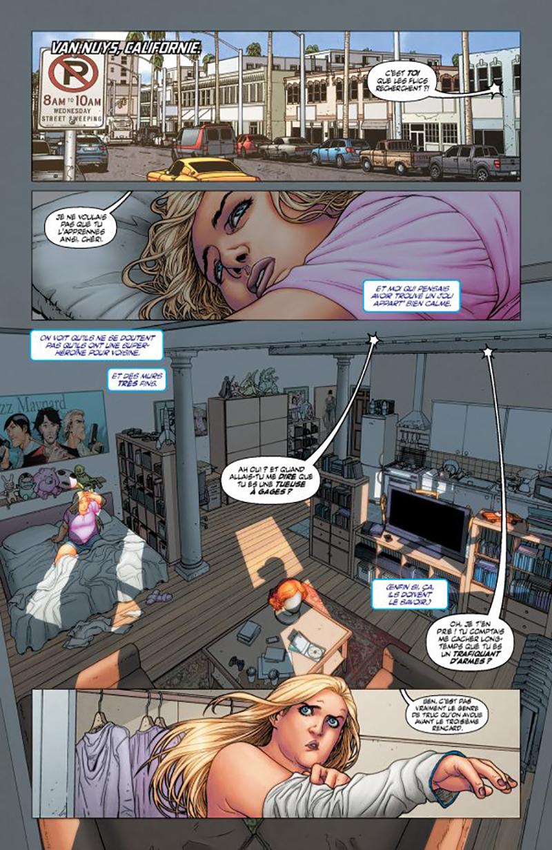 Extrait n°4 du comics tome 1 par Francis Portela