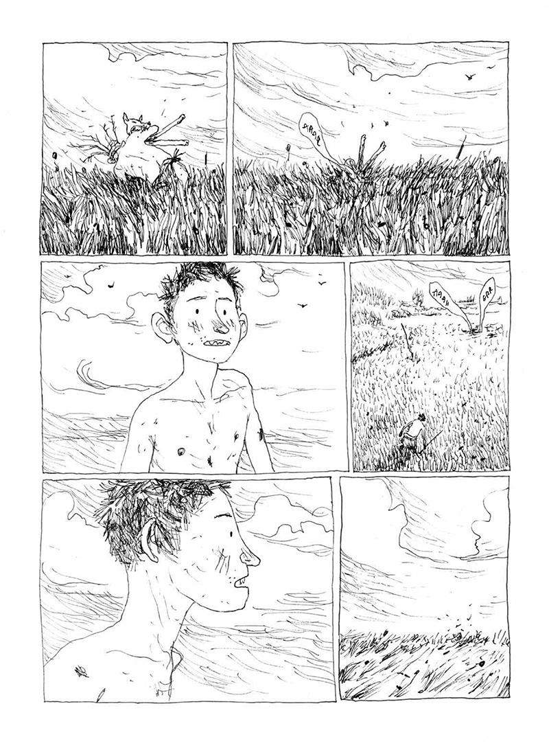 Extrait n°5 de la bd La Terre des fils par Gipi