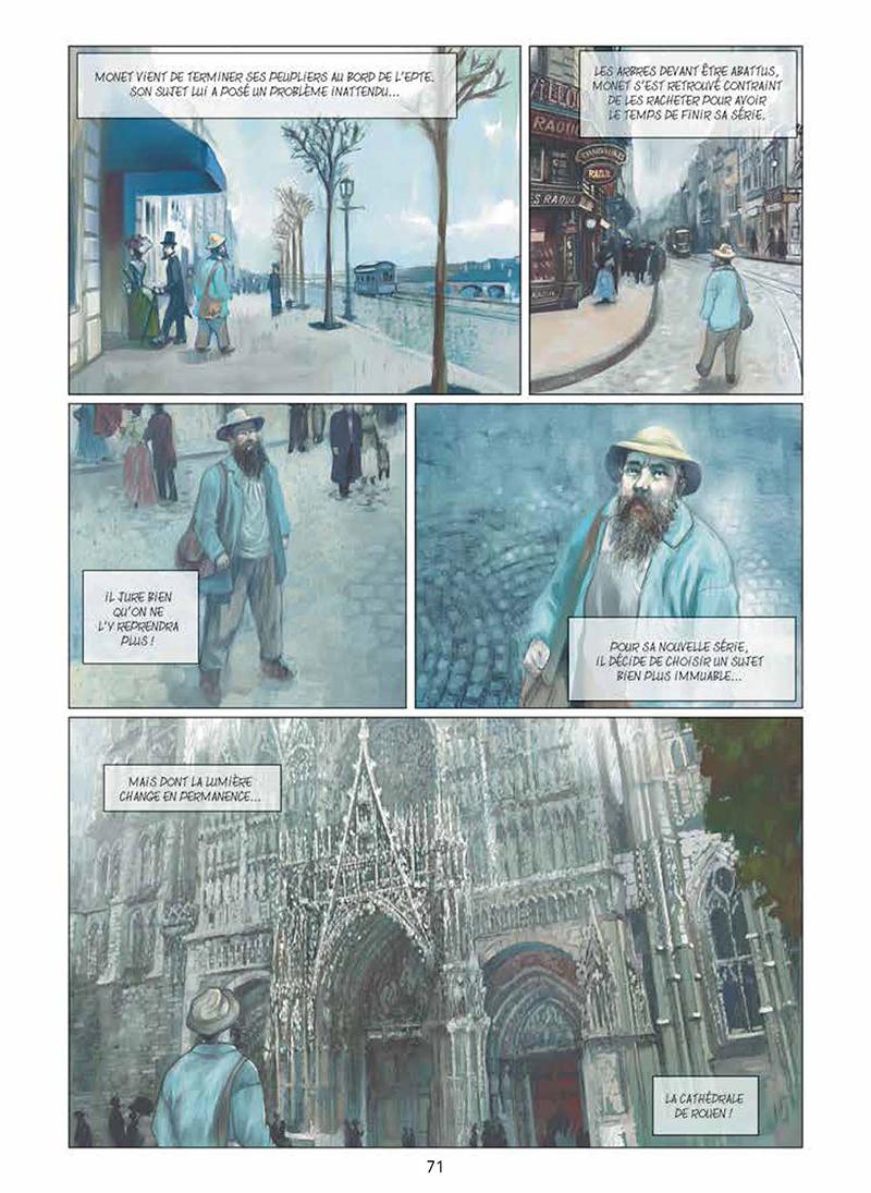 Extrait n°2 de la bd Artips - Histoire(s) de l'Art en BD par Céka