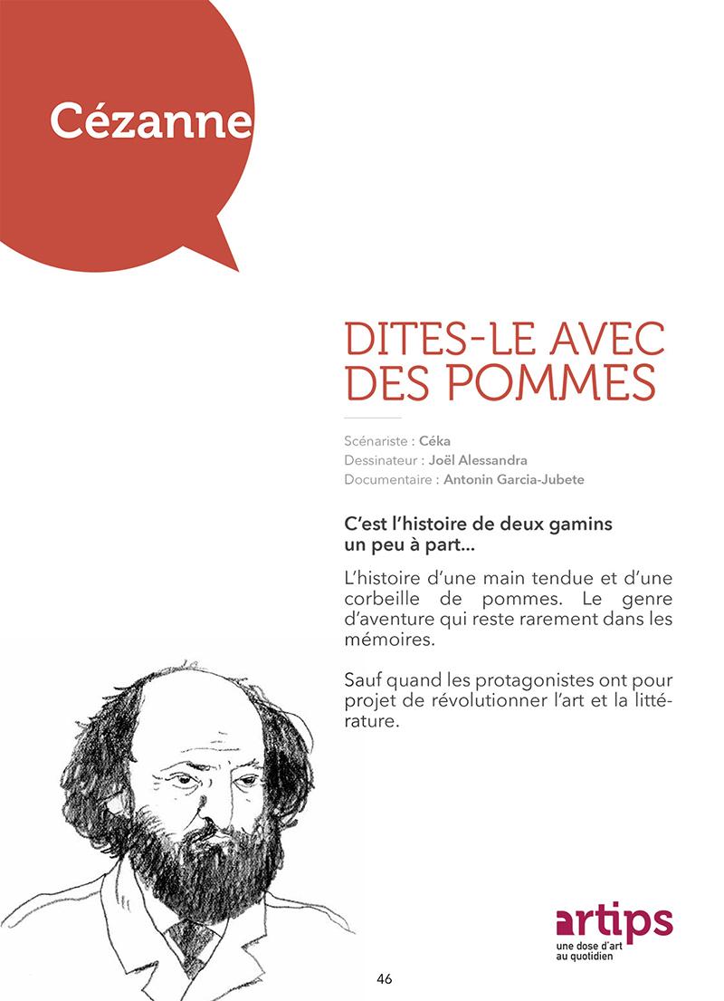 Extrait n°4 de la bd Artips - Histoire(s) de l'Art en BD par Céka