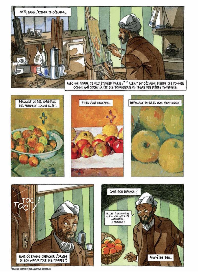 Extrait n°5 de la bd Artips - Histoire(s) de l'Art en BD par Céka