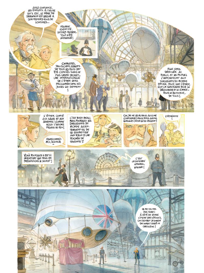 Extrait n°10 de la bd tome 3 par Alex Alice