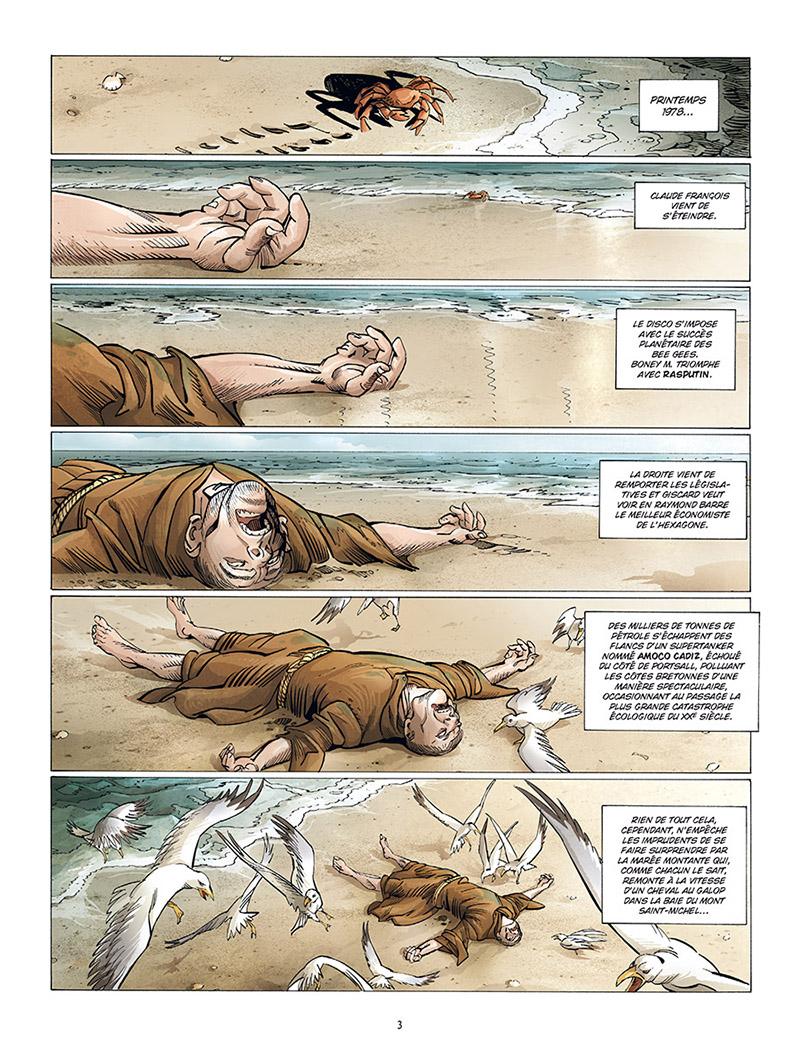 Extrait n°1 de la bd tome 2 par Éric Corbeyran
