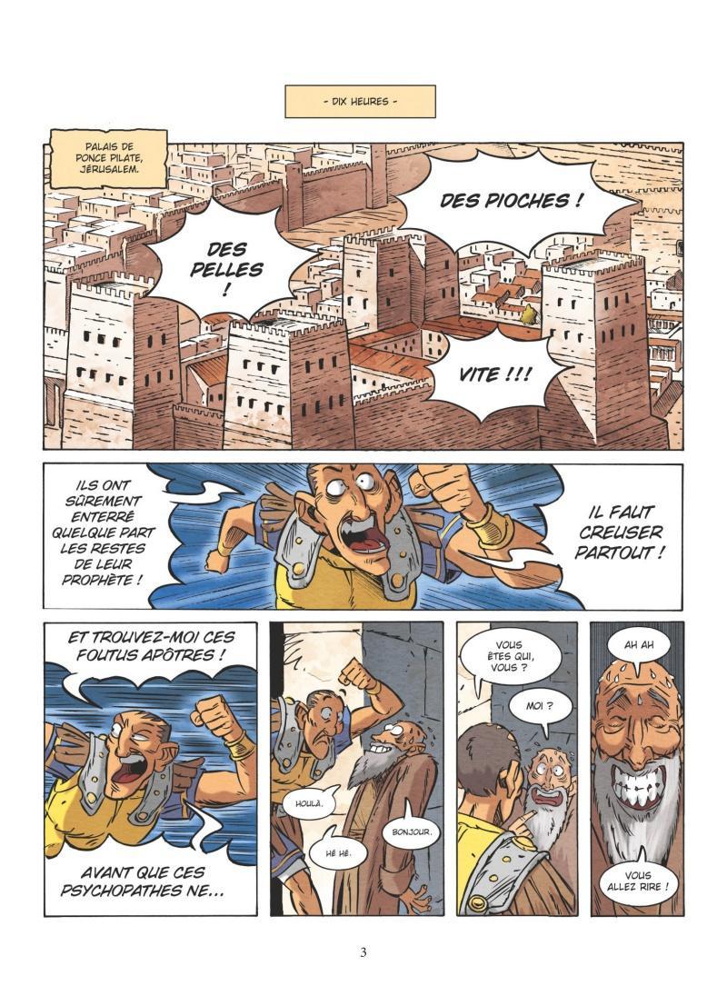 Extrait n°1 de la bd tome 2 par Nicolas Juncker
