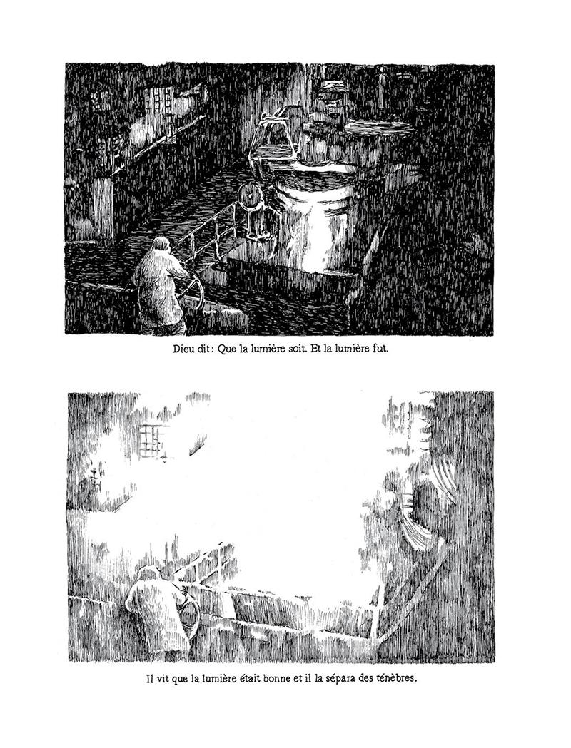 Extrait n°2 de la bd Le Livre par Nicolas Arispe