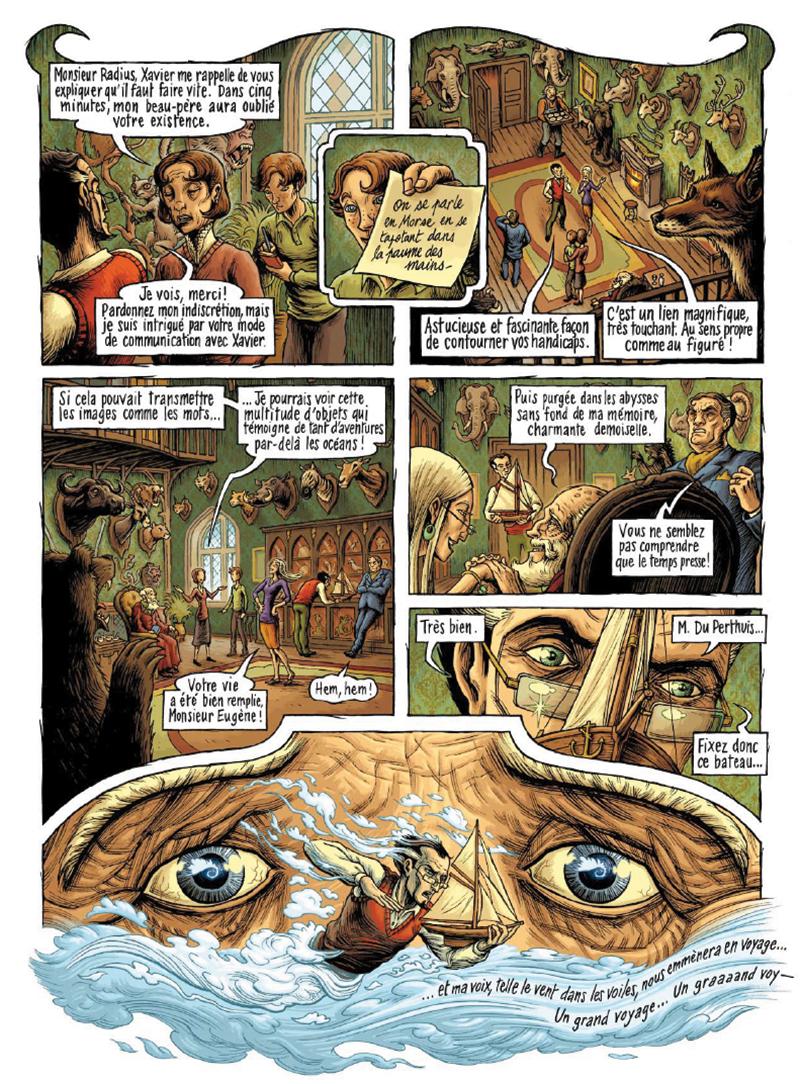 Extrait n°13 de la bd par Erwan Courbier