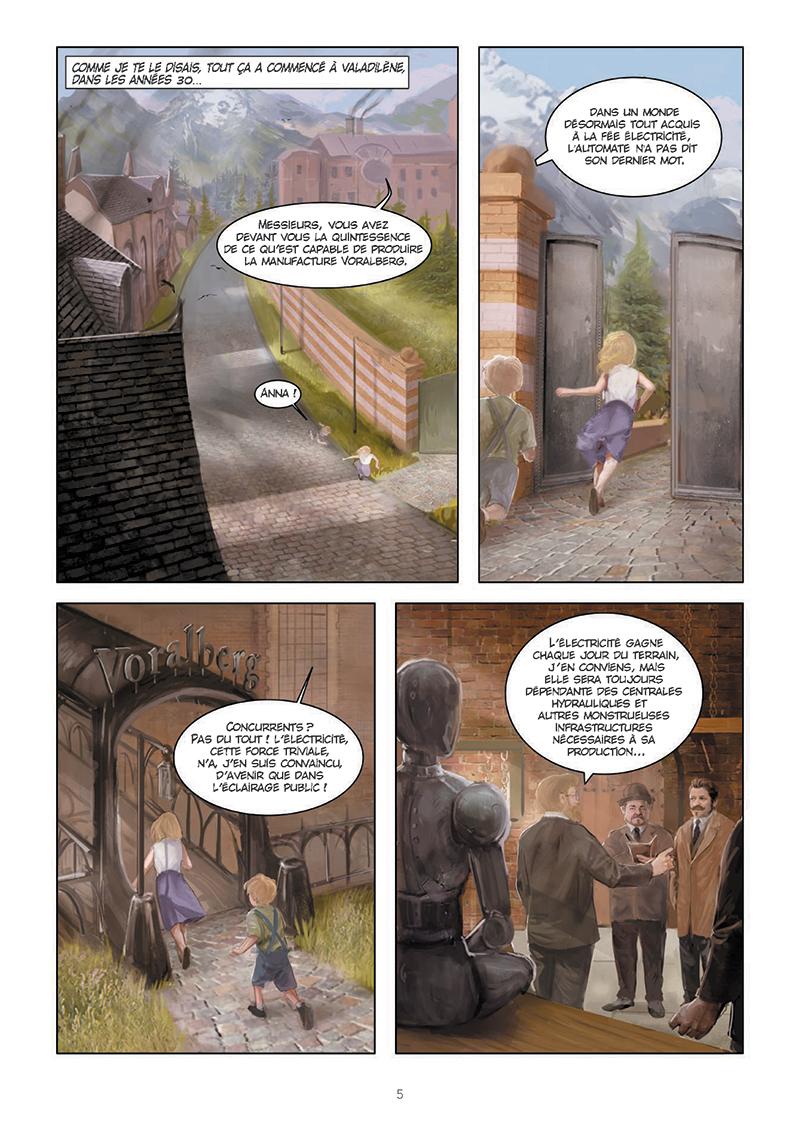 Extrait n°3 de la bd tome 1 par Hugo Sokal
