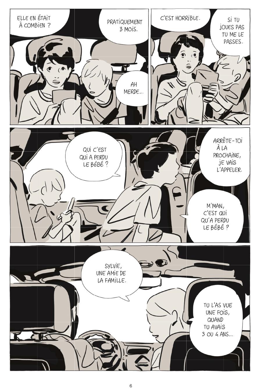 Extrait n°2 de la bd Une soeur par Bastien Vivès