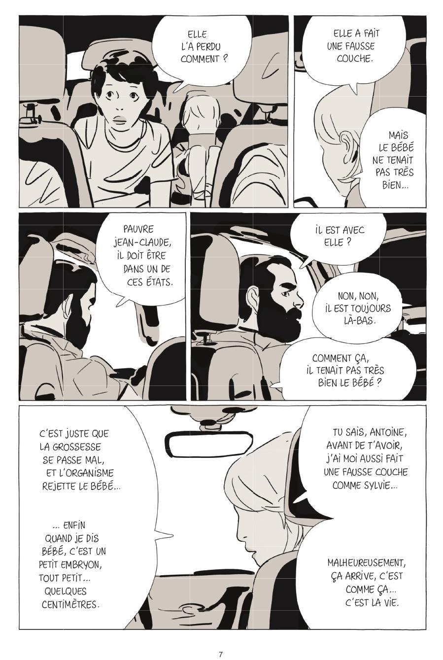 Extrait n°3 de la bd Une soeur par Bastien Vivès