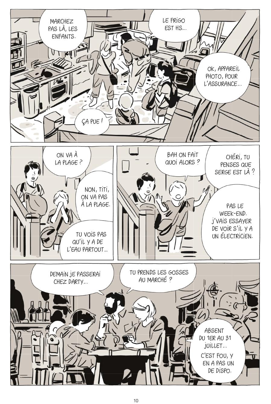 Extrait n°6 de la bd Une soeur par Bastien Vivès