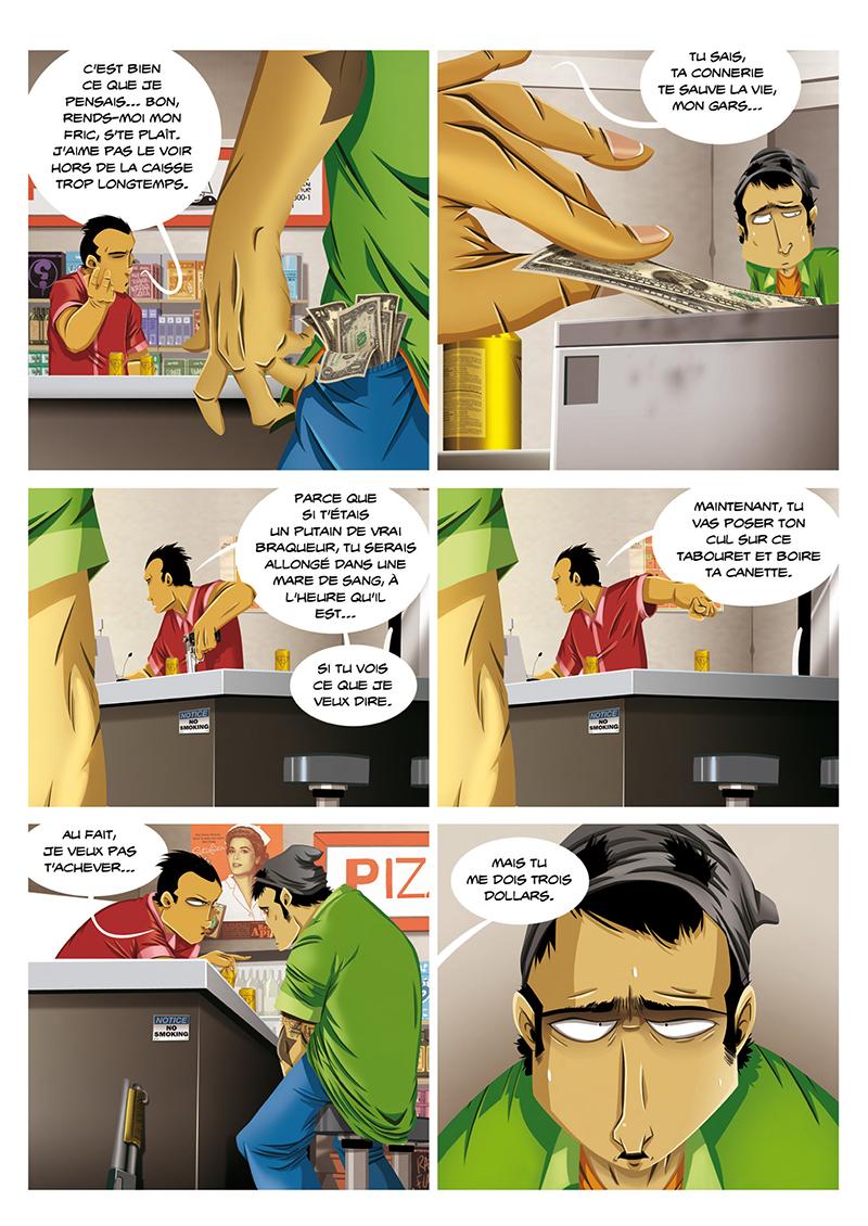 Extrait n°6 de la bd Hold-up, La BD dont vous êtes le héros par Shuky