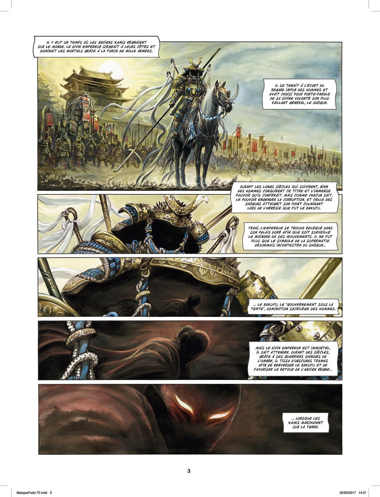 Extrait n°1 de la bd tome 2 par Saverio Tenuta