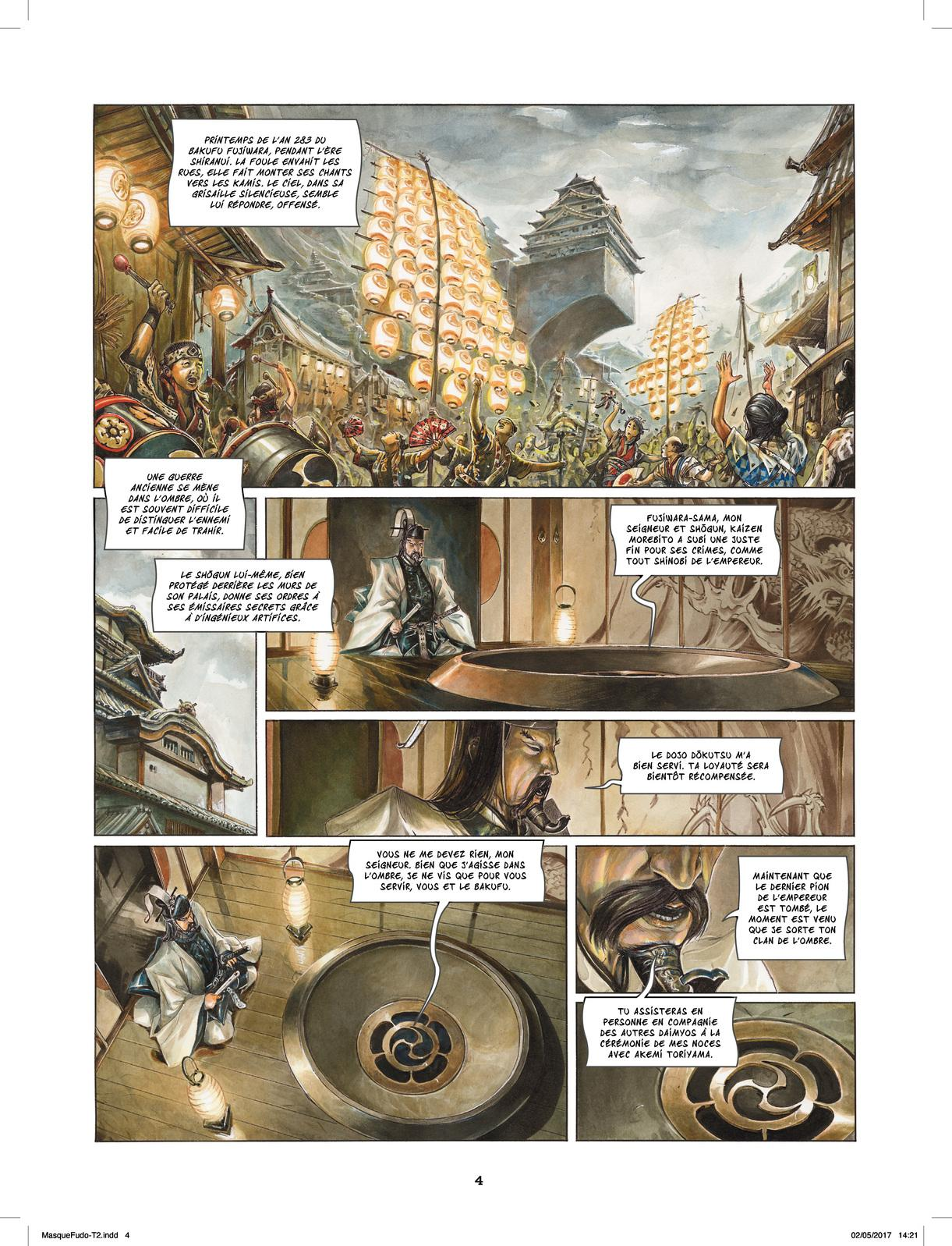 Extrait n°2 de la bd tome 2 par Saverio Tenuta