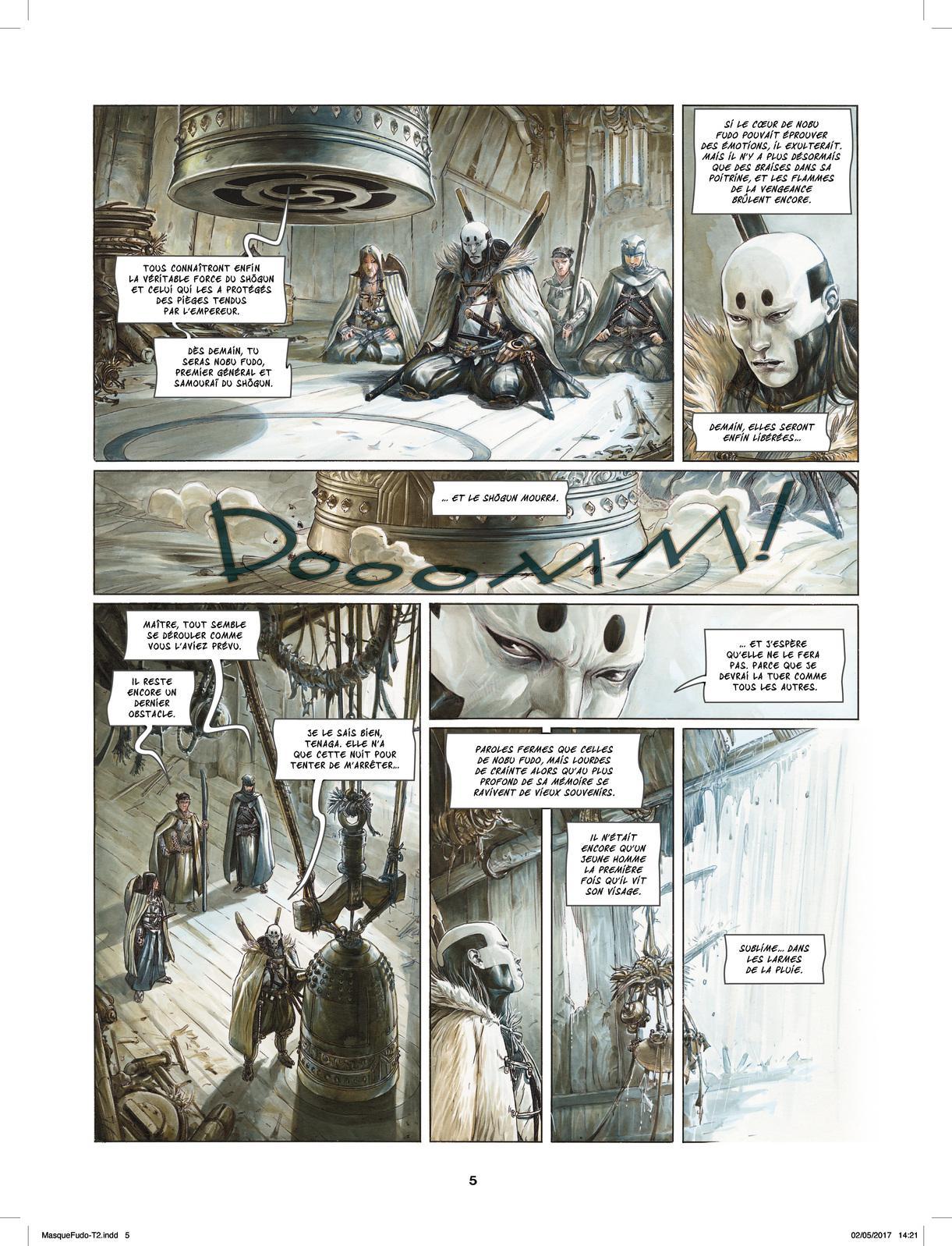 Extrait n°3 de la bd tome 2 par Saverio Tenuta