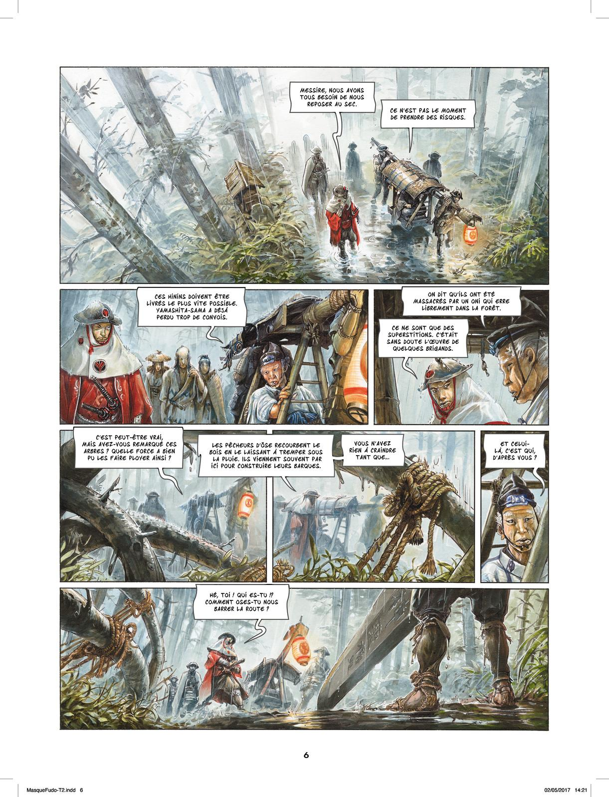 Extrait n°4 de la bd tome 2 par Saverio Tenuta