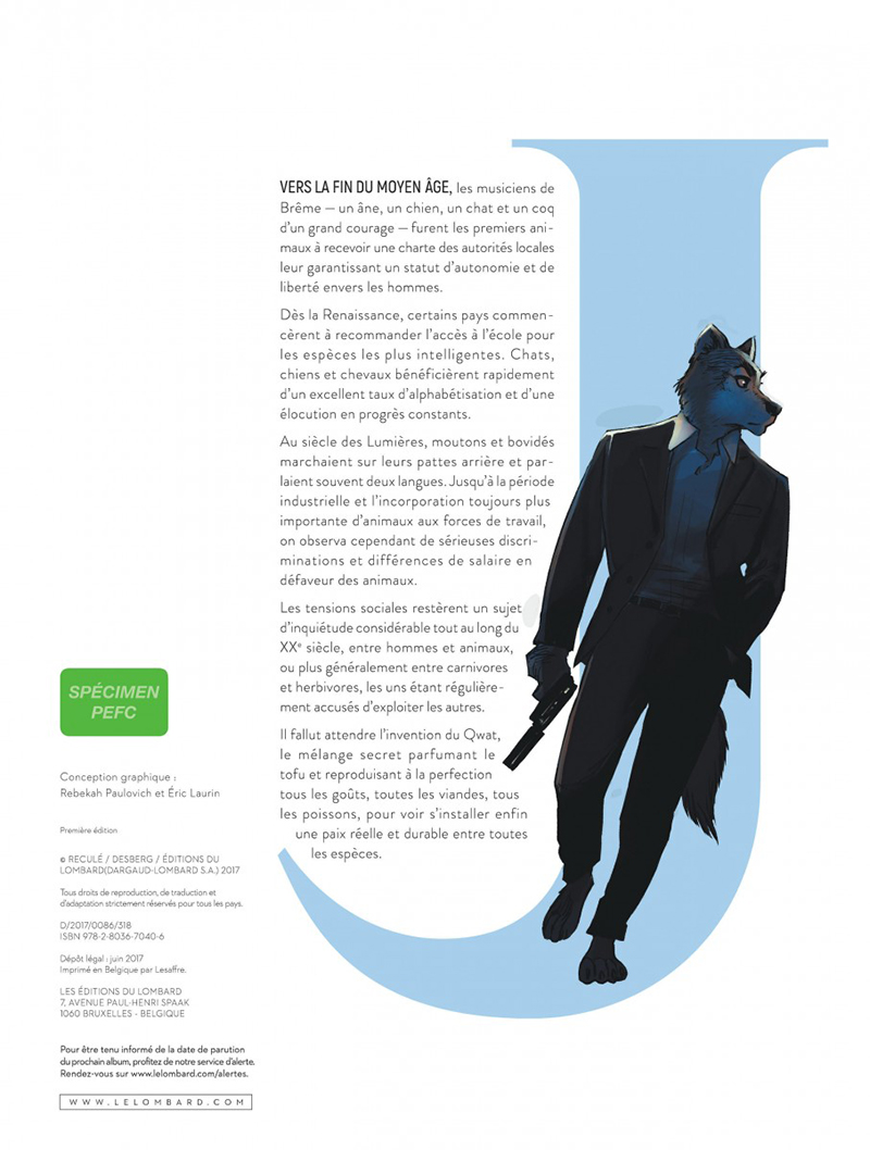 Extrait n°2 tome 1 par Stephen Desberg