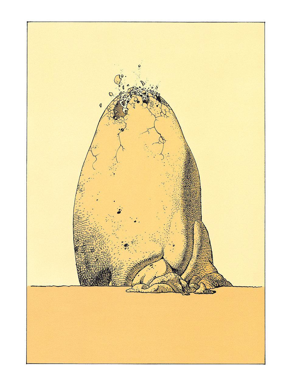 Extrait n°2 de la bd Le Bandard Fou Classique par Moebius