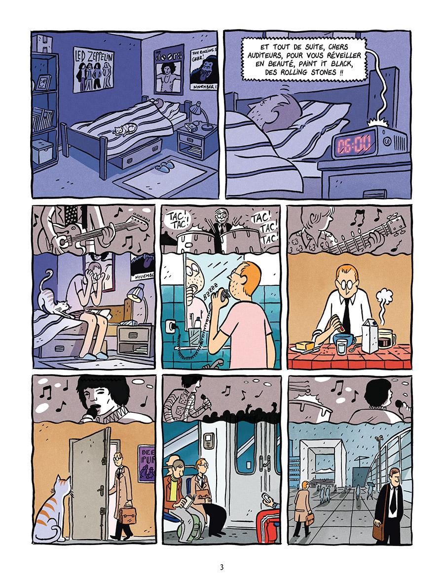 Extrait n°1 de la bd Deux vies de Baudouin par Fabien Toulmé