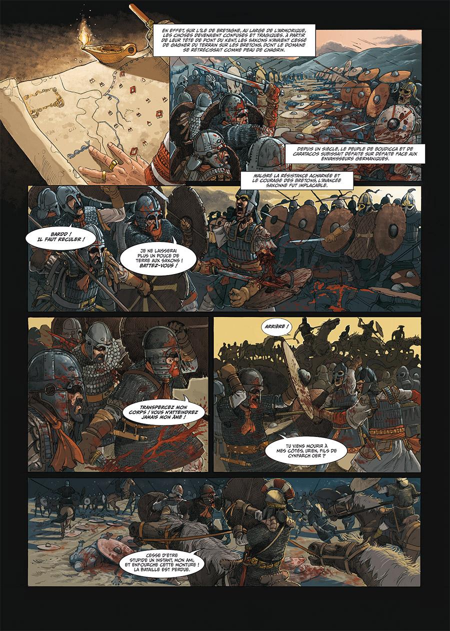 Extrait n°3 de la bd tome 2 par Thierry Jigourel