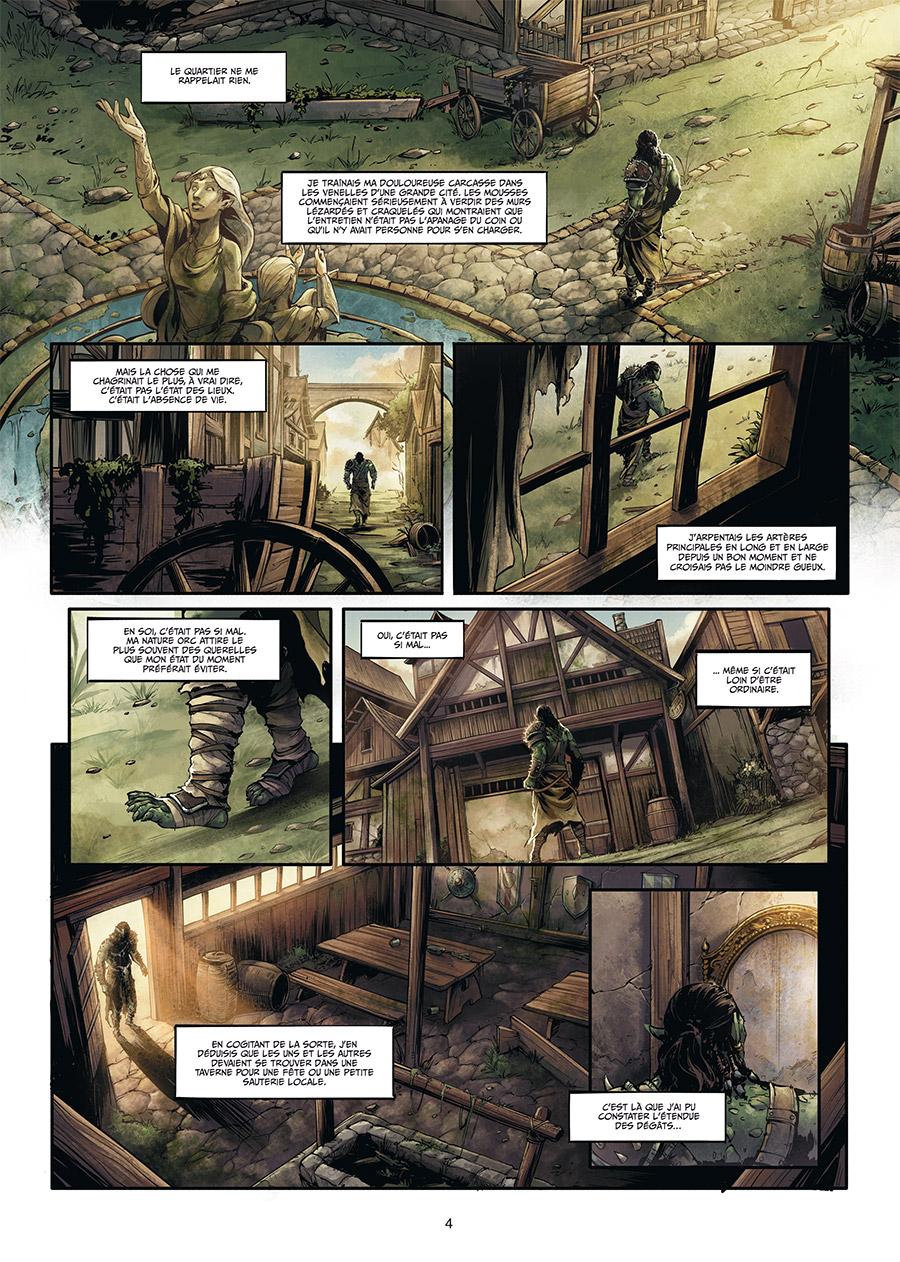 Extrait n°2 de la bd tome 1 par Jean-Luc Istin