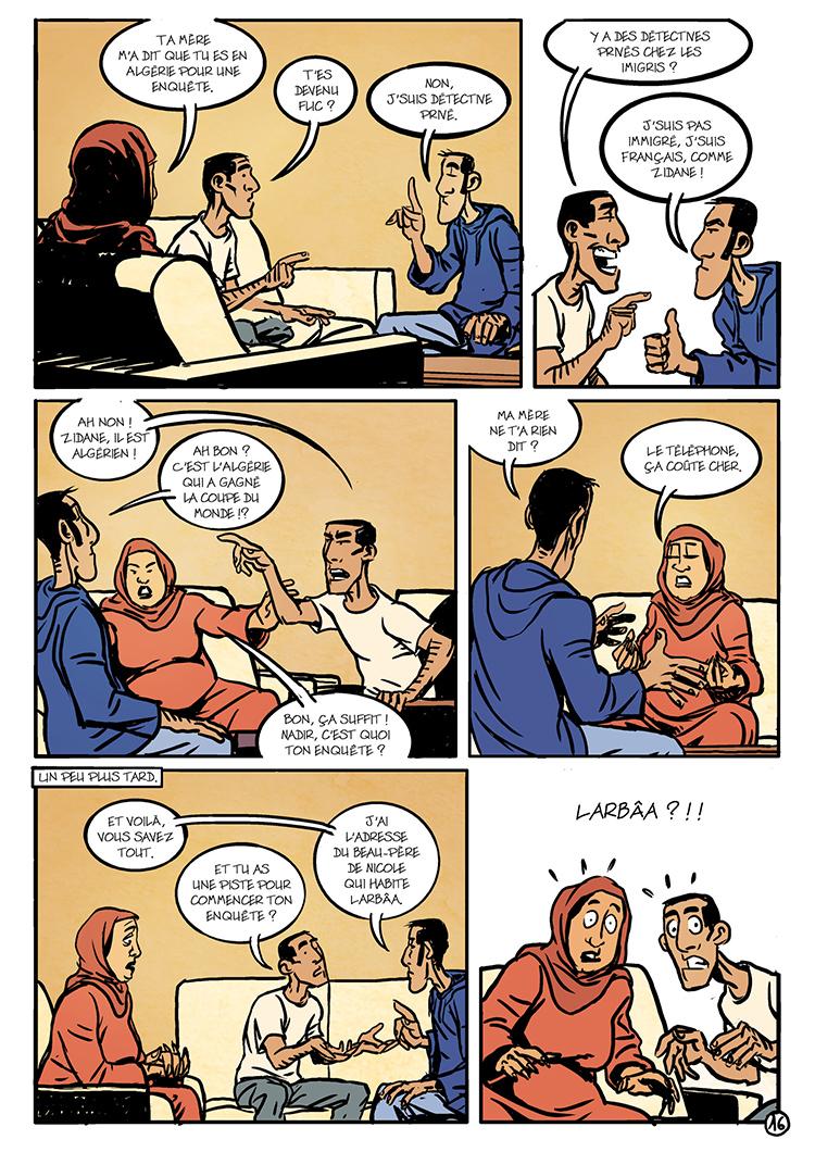 Extrait n°2 de la bd Oualou en Algérie par Gyps
