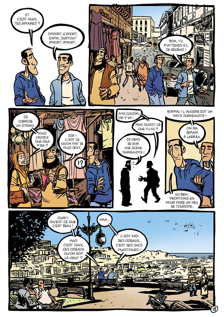 Extrait n°4 de la bd Oualou en Algérie par Gyps