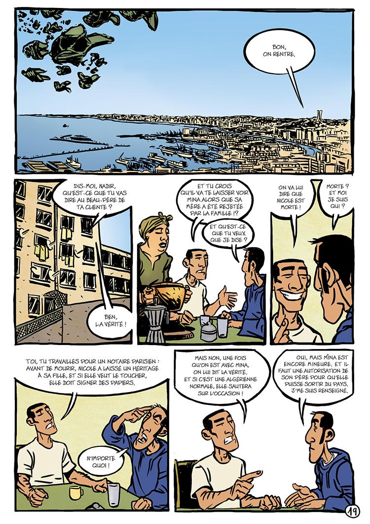 Extrait n°5 de la bd Oualou en Algérie par Gyps