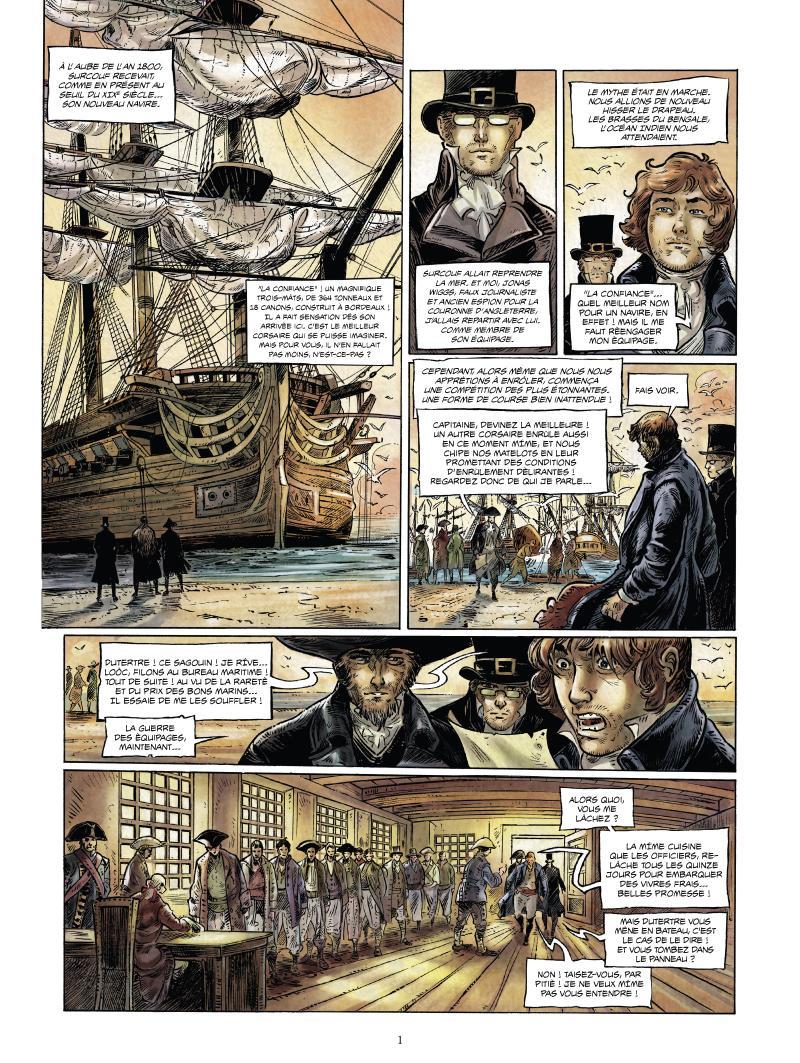 Extrait n°1 de la bd tome 3 par Jean-Michel Charlier