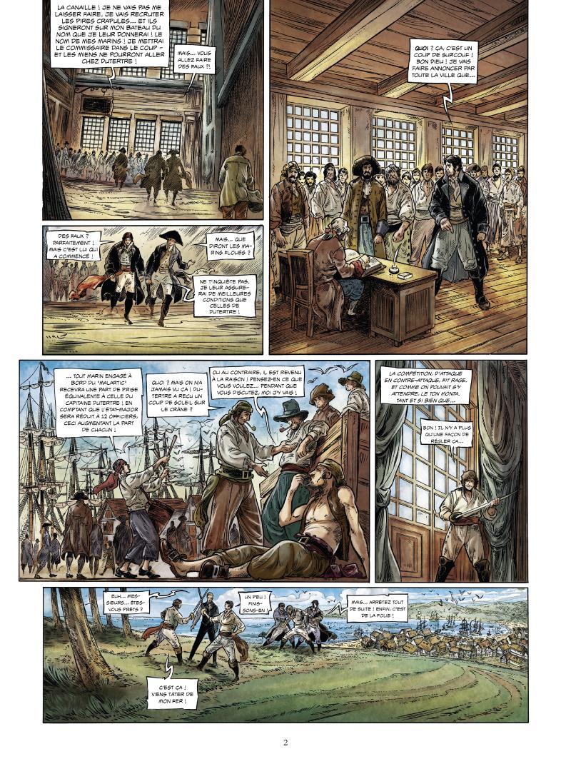 Extrait n°2 de la bd tome 3 par Jean-Michel Charlier