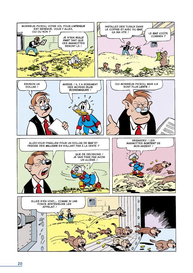 Extrait n°2 du comics tome 16 par Carl Barks