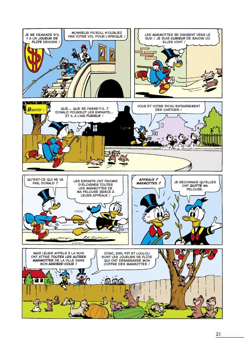 Extrait n°3 du comics tome 16 par Carl Barks