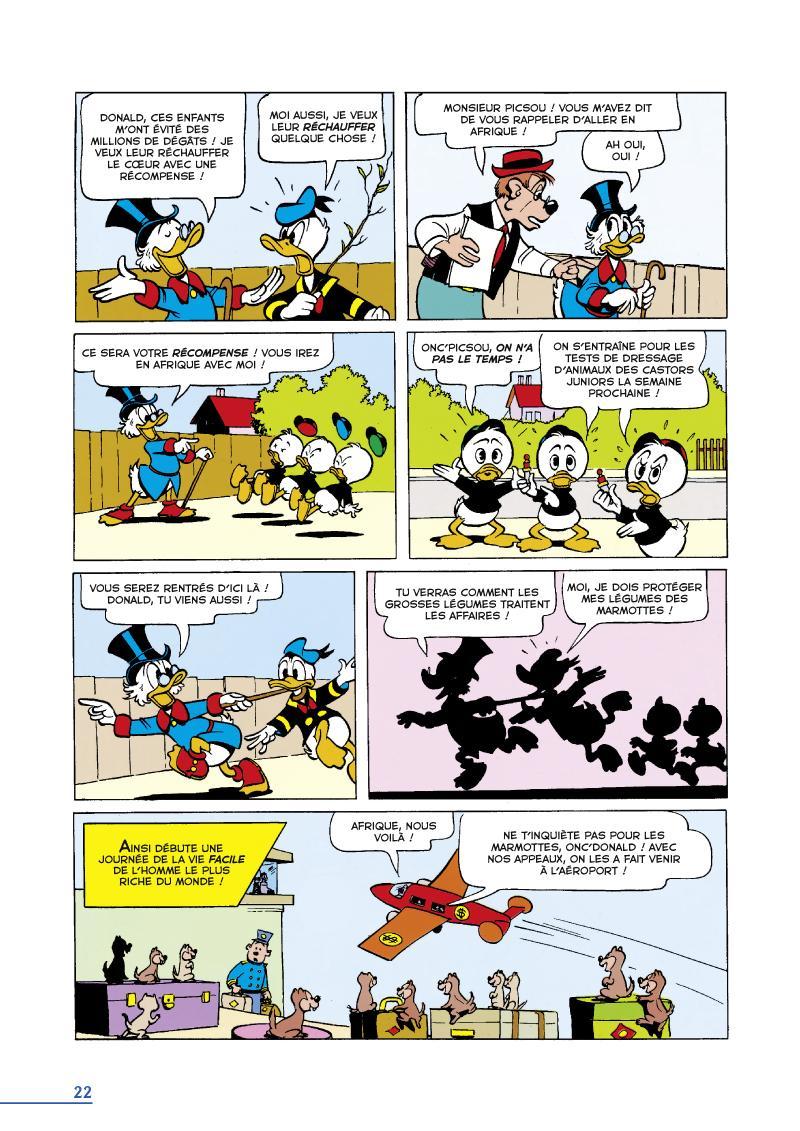 Extrait n°4 du comics tome 16 par Carl Barks